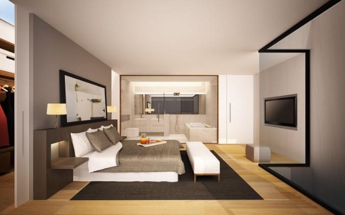 foto dormitorio moderno